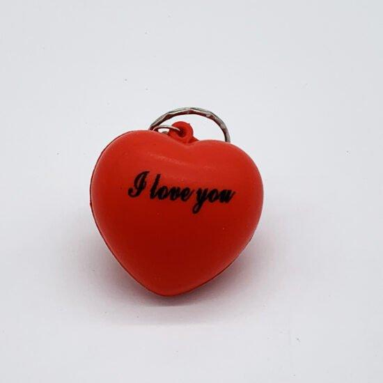 Брелок сердце БР-021 уп.