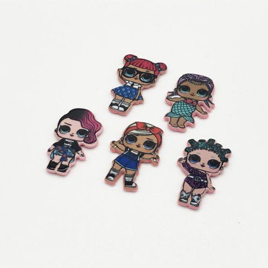 Девочки лолы для поделок Л-021 уп.-25шт. - купить в интернет-магазине Viva-Zakolki