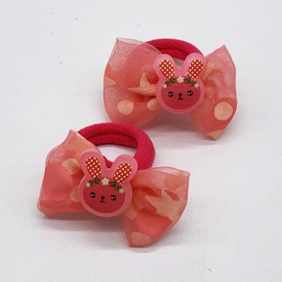 Детская резинка зайчик D-2006 уп.-20шт. - купить в интернет-магазине Viva-Zakolki