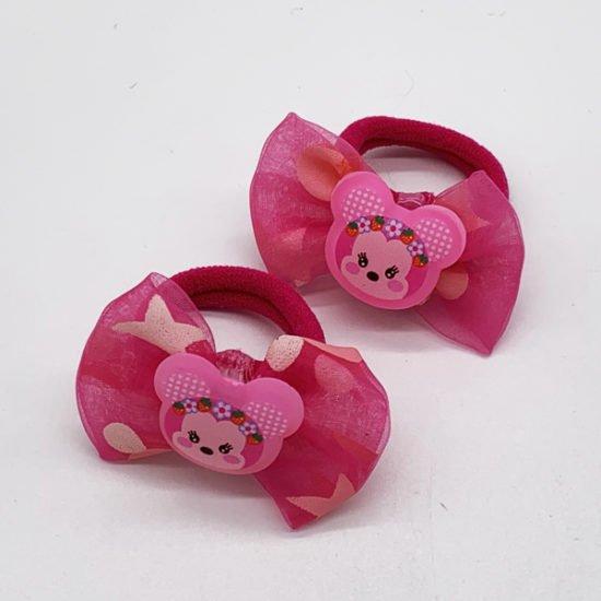 Детская резинка мишка D-2006а уп.-20шт. - купить в интернет-магазине Viva-Zakolki