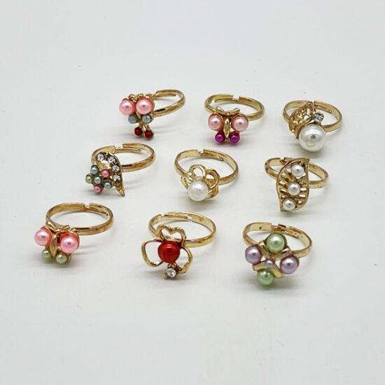 Детские кольца В-1354 уп.