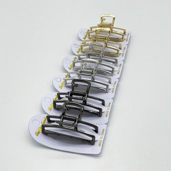 Заколка краб металл АР-012а уп.-6шт.-3.77.