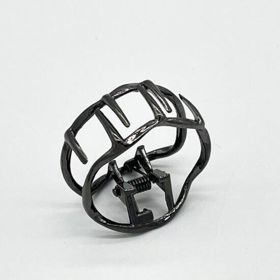 Заколка краб металл АР-013 уп.