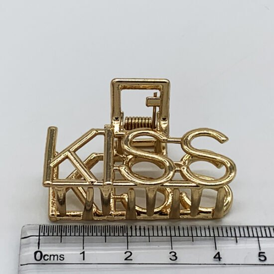 Заколка краб металл KR-10.