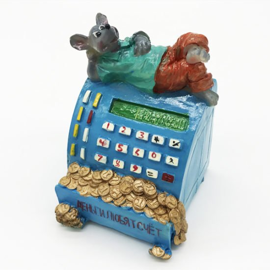 Керамика копилка крыса КР-023 уп.-1шт. - купить в интернет-магазине Viva-Zakolki