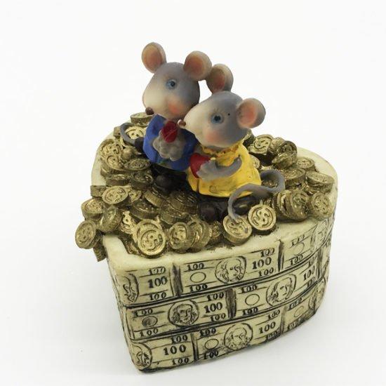Керамика копилка крысы КР-011 уп.-1шт.-0.92.