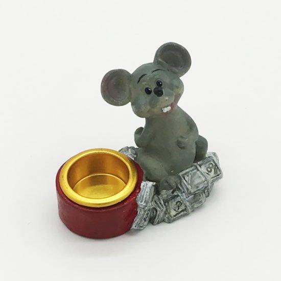 Керамика подсвечник крысы КР-002 уп.-10шт.