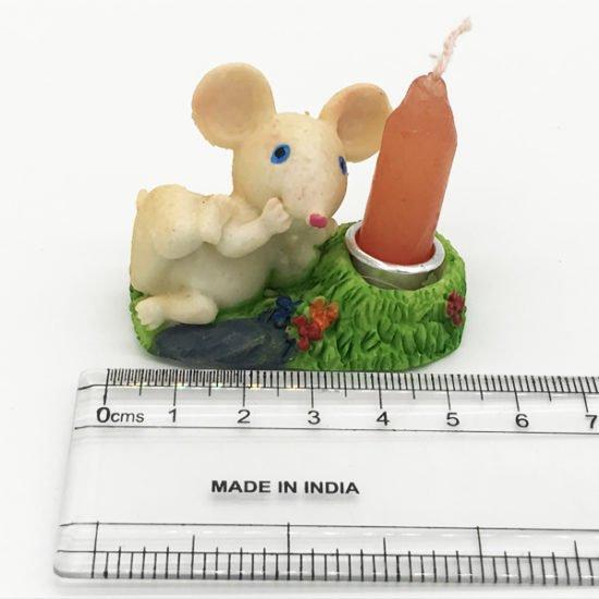 Керамика подсвечник крысы КР-015.