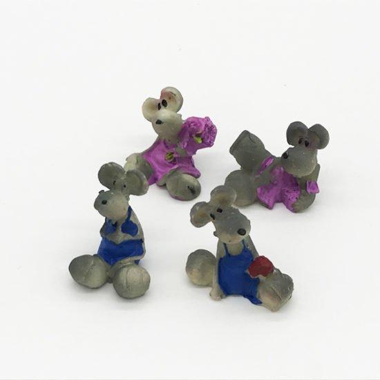 Керамика сувенир крысы КР-006 уп.-25шт. - купить в интернет-магазине Viva-Zakolki