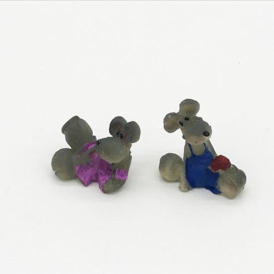 Керамика сувенир крысы КР-006 уп.