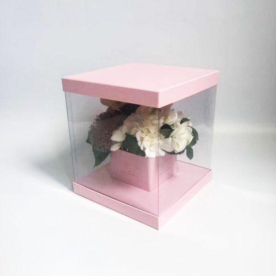 Коробка под цветы К-34а уп.-1шт. - купить в интернет-магазине Viva-Zakolki