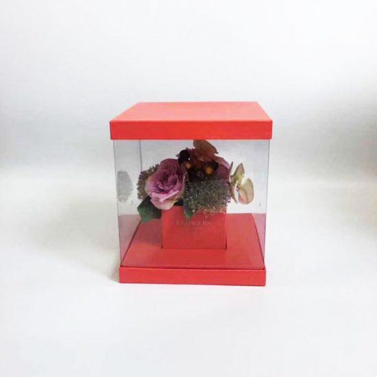 Коробка под цветы К-34 уп.-1шт. - купить в интернет-магазине Viva-Zakolki