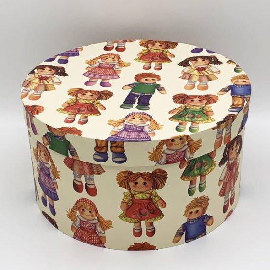 Коробка круглая К-239 уп.-3шт. - купить в интернет-магазине Viva-Zakolki