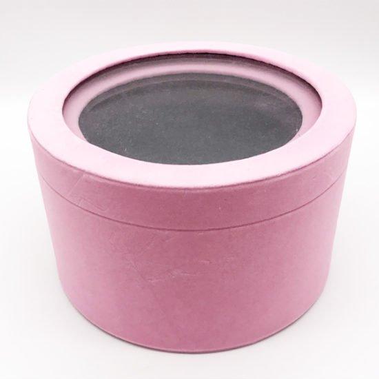 Коробка круглая велюровая К-241в уп.-2шт.-14.80.