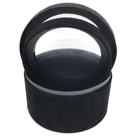 Коробка круглая велюровая К-241.