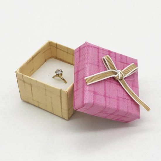 Коробка под кольцо К-4 уп.-12шт. - купить в интернет-магазине Viva-Zakolki