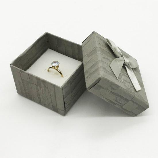 Коробка под кольцо К-5 уп.-12шт. - купить в интернет-магазине Viva-Zakolki