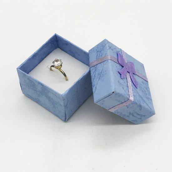 Коробка под кольцо К-6 уп.-24шт. - купить в интернет-магазине Viva-Zakolki
