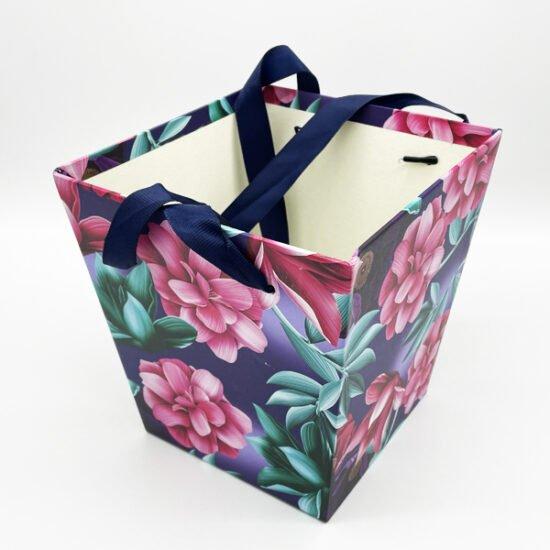 Коробка под цветы К-15а уп.-1шт. - купить в интернет-магазине Viva-Zakolki