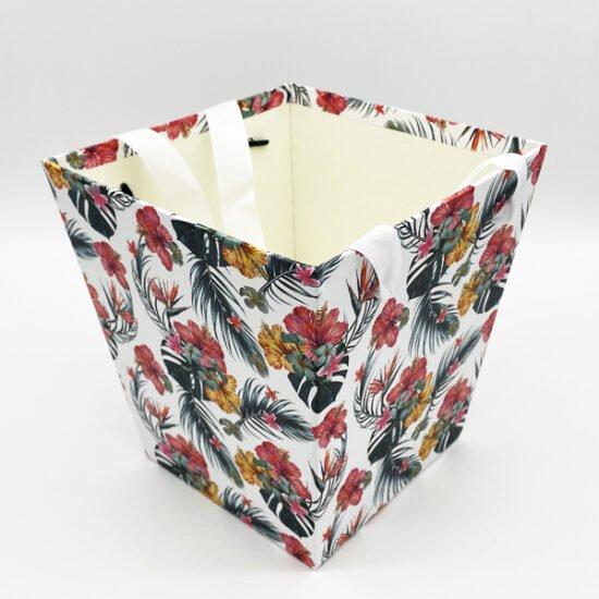 Коробка под цветы К-15б уп.-1шт. - купить в интернет-магазине Viva-Zakolki