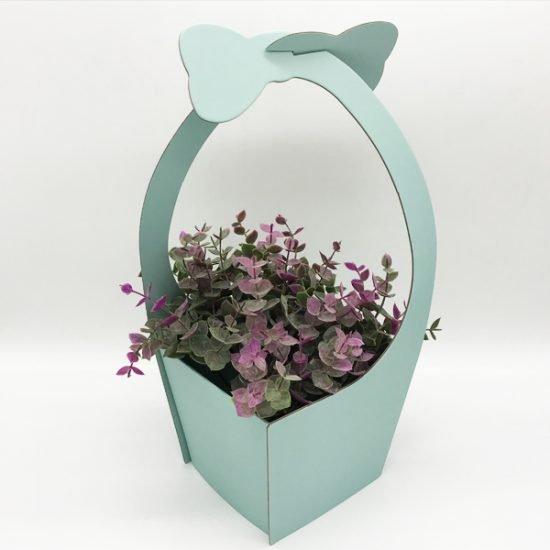 Коробка под цветы К-172а уп.-1шт. - купить в интернет-магазине Viva-Zakolki