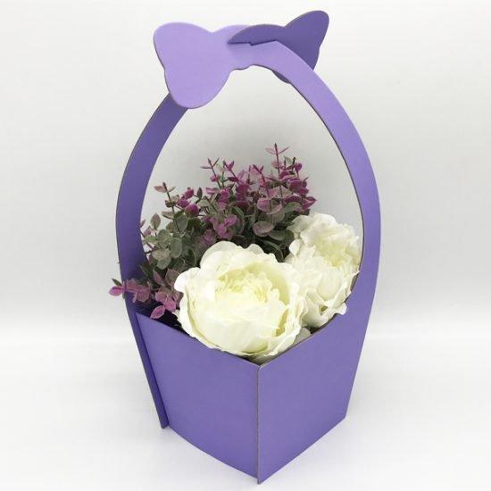 Коробка под цветы К-172 уп.-1шт. - купить в интернет-магазине Viva-Zakolki