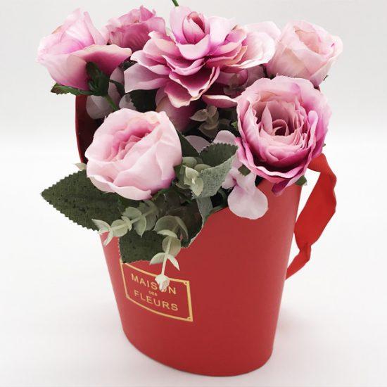 Коробка под цветы К-176 уп.-1шт. - купить в интернет-магазине Viva-Zakolki