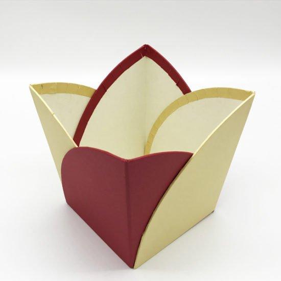 Коробка под цветы К-251б уп.-1шт. - купить в интернет-магазине Viva-Zakolki