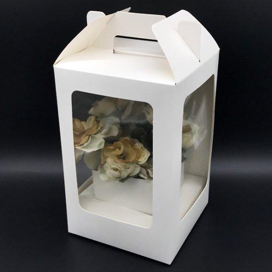 Коробка под цветы К-314б уп.-1шт. - купить в интернет-магазине Viva-Zakolki