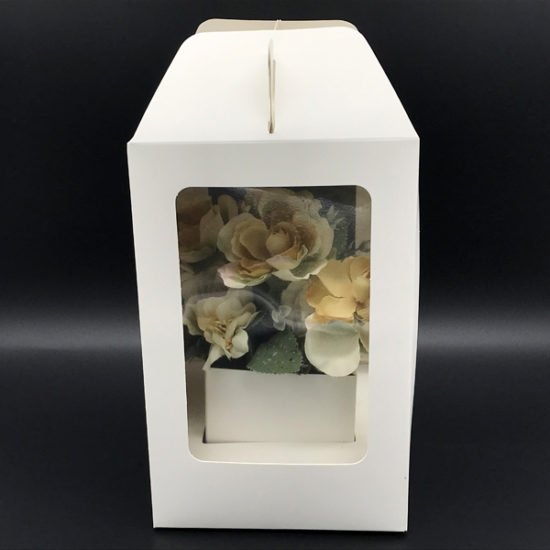 Коробка под цветы К-256б уп.-1шт.