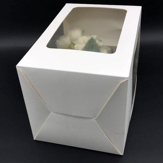 Коробка под цветы К-256б уп.