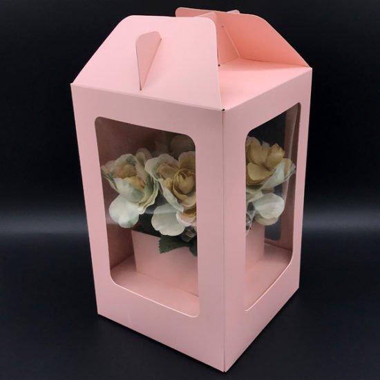 Коробка под цветы К-314в уп.-1шт. - купить в интернет-магазине Viva-Zakolki