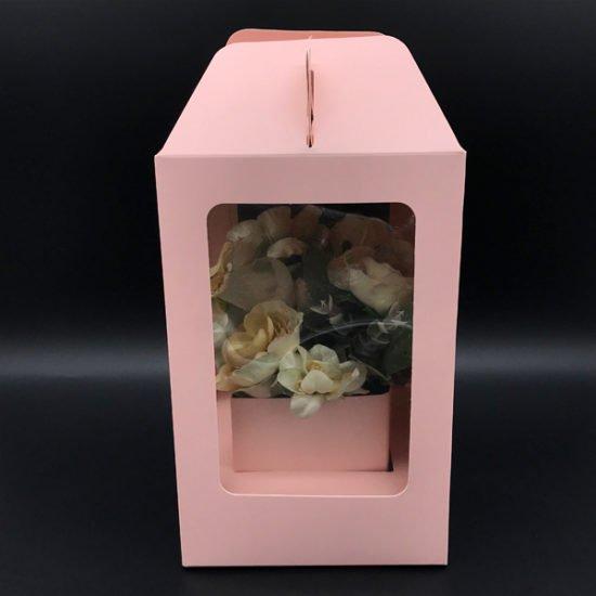 Коробка под цветы К-256в уп.-1шт.