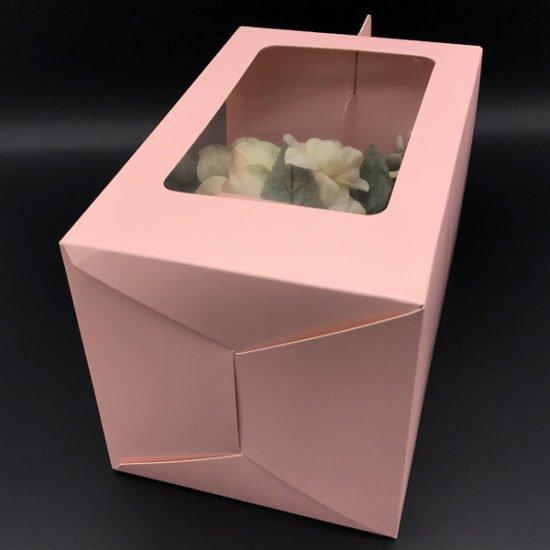 Коробка под цветы К-256в уп.