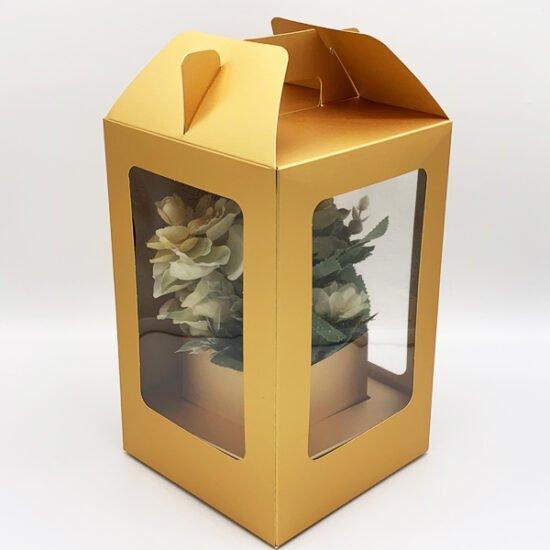 Коробка под цветы К-256г уп.-1шт. - купить в интернет-магазине Viva-Zakolki