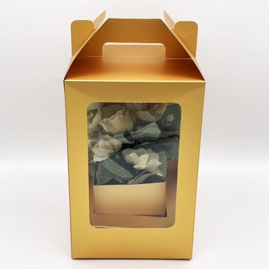 Коробка под цветы К-256г уп.-1шт.