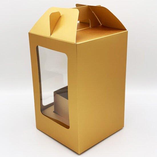 Коробка под цветы К-256г.