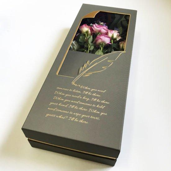 Коробка под цветы К-257а уп.-1шт. - купить в интернет-магазине Viva-Zakolki