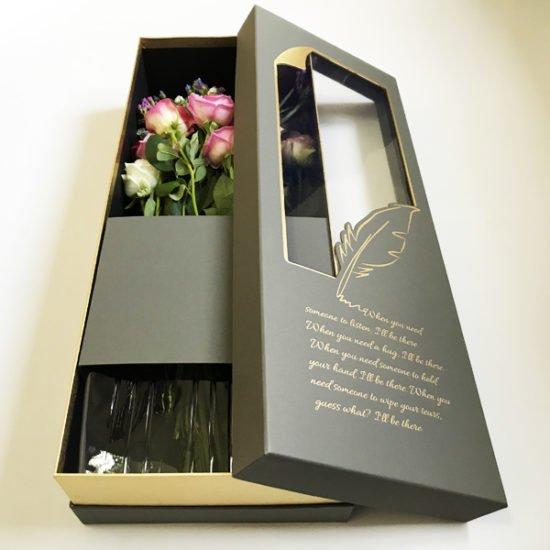 Коробка под цветы К-257а.