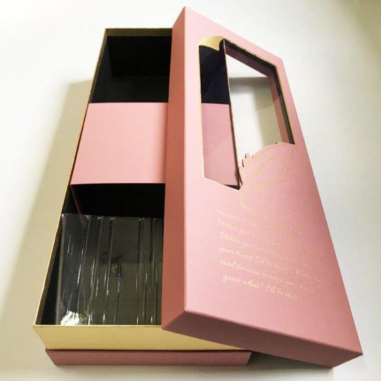 Коробка под цветы К-257б уп.