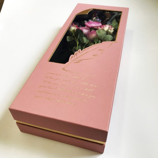 Коробка под цветы К-257б уп.-1шт. - купить в интернет-магазине Viva-Zakolki