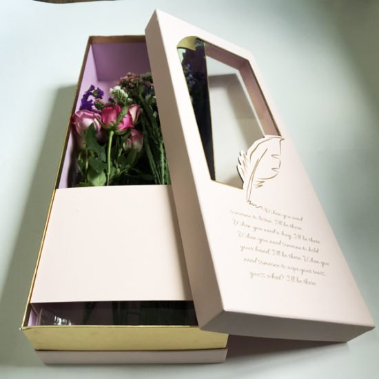 Коробка под цветы К-257в.