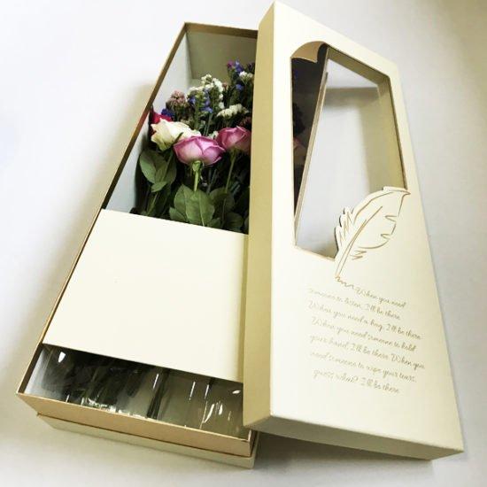 Коробка под цветы К-257 уп.-1шт.-10.0.