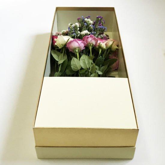 Коробка под цветы К-257 уп.