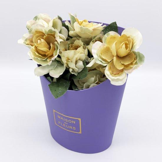 Коробка под цветы К-270д уп.-1шт.-1.67.
