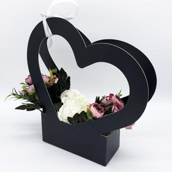 Коробка под цветы К-313а уп.-1шт. - купить в интернет-магазине Viva-Zakolki