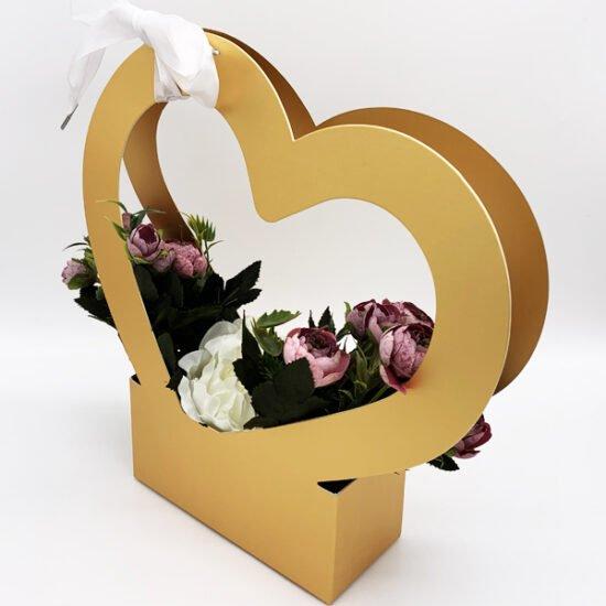 Коробка под цветы К-275б уп.-1шт. - купить в интернет-магазине Viva-Zakolki