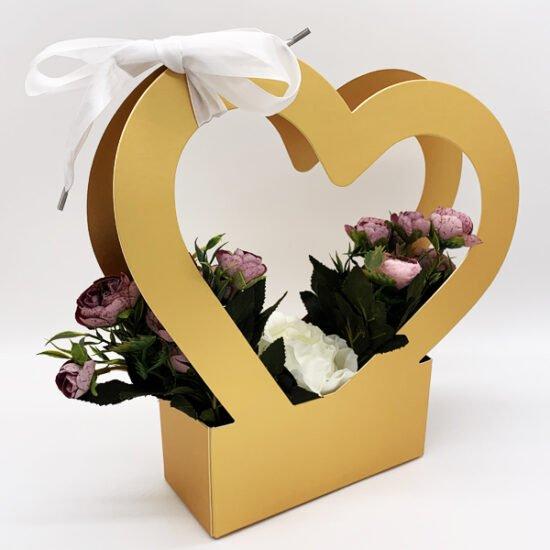 Коробка под цветы К-275б.