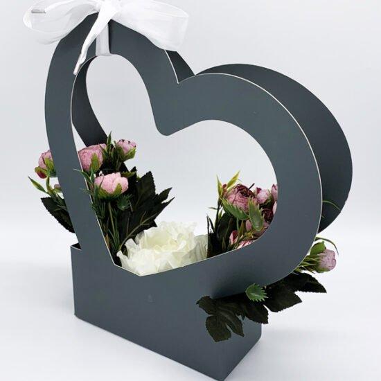 Коробка под цветы К-313в уп.-1шт. - купить в интернет-магазине Viva-Zakolki