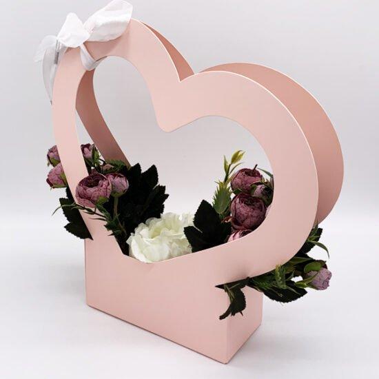 Коробка под цветы К-313г уп.-1шт. - купить в интернет-магазине Viva-Zakolki